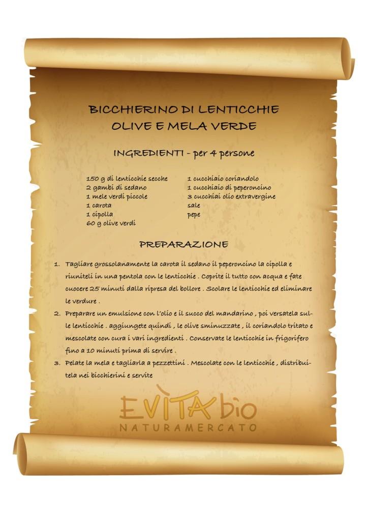 BICCHIERINO DI LENTICCHIE - ricetta [1149176]