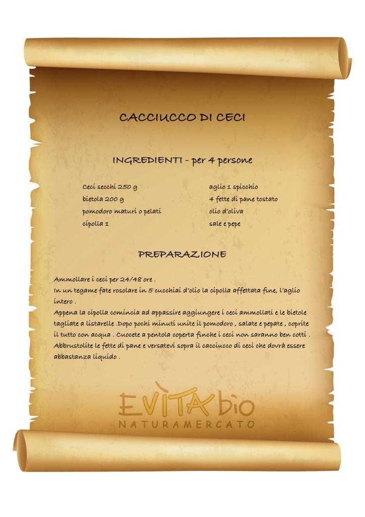 CACCIUCCO DI CECI - ricetta [1149180]