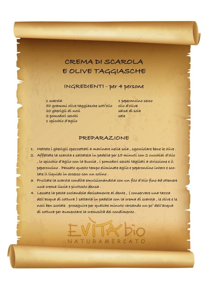 CREMA DI SCAROLA E OLIVE TAGGIASCHE - ricetta [1149178]