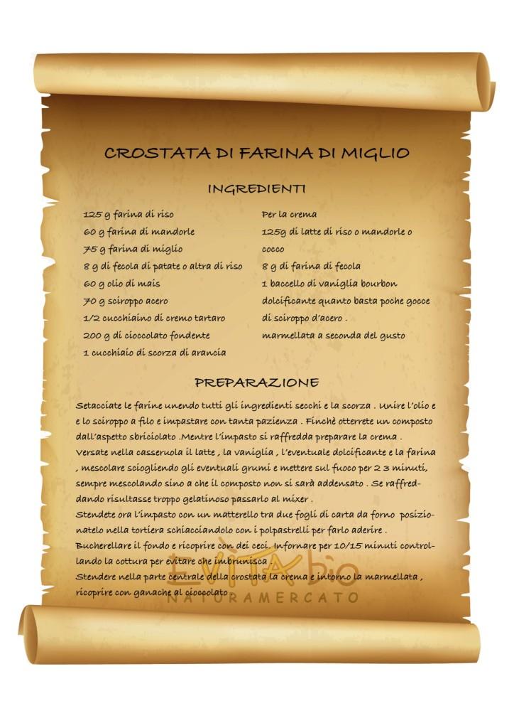 CROSTATA DI FARINA DI MIGLIO - ricetta [1149179]