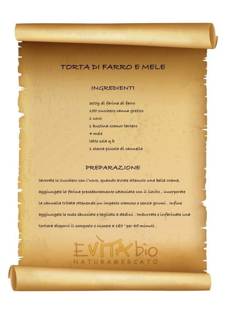 TORTA DI FARRO E MELE - ricetta [1149175]